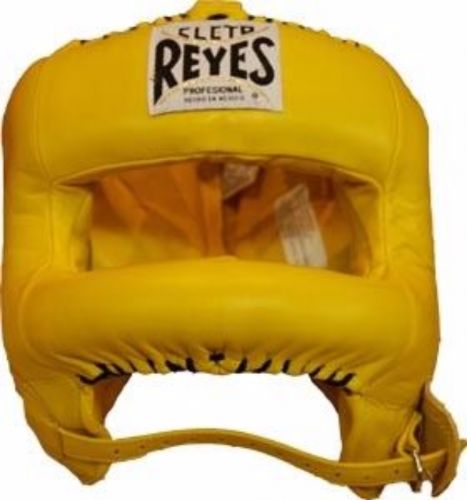 Cleto Reyes Rounded Facebar Headguard - Yellow